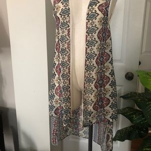 NWT Hippie Laundry sheer cover up